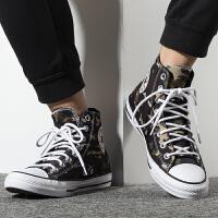 Converse匡威男鞋运动耐磨休闲鞋高帮帆布鞋165915
