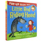 Pop-Up Little Red Riding Hood 小红帽 经典童话故事 立体英文绘本原版 3~6岁幼儿英语启