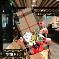3LV3i华为P30手机软壳pro国潮P20可爱Mate20X超萌nova4潮牌3 华为P30 美元鸭