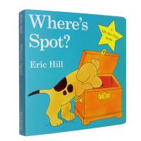 #英文原版 Where's is Spot where is spot小玻在哪里?Eric Hill 艾瑞卡尔 0-1-