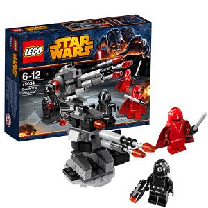 [当当自营]LEGO 乐高 星球大战系列 战斗套装系列 - 死星 骑兵 积木拼插儿童益智玩具 75034