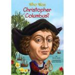 【现货】英文原版 Who Was Christopher Columbus? 哥伦布是谁 名人认知系列 中小学生读物