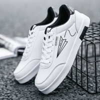 男士休闲鞋韩版潮流板鞋白色男鞋运动潮鞋小白鞋夏季白鞋学生鞋子