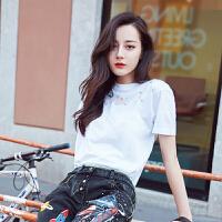 短袖女t恤韩版夏装上衣白色体恤学生百搭打底衫宽松装