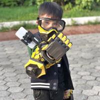玩具金刚大黄蜂战神机甲机械手臂模型机器汽车人可发射枪礼物