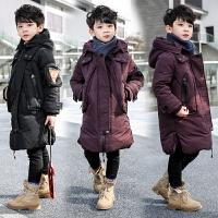 童装男童冬装中大童儿童棉袄小孩中长款外套帅气
