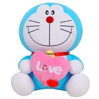 绒智 机器猫哆啦A梦公仔毛绒玩具女生生日礼物叮当猫 代写卡片