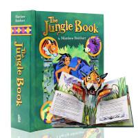 【满300-100】奇幻森林立体书 原装进口英文原版 The Jungle Book A Pop-Up Adventur