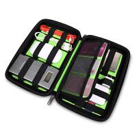 BUBM XVA防水抗震硬壳收纳包D卡数据线收纳移动硬盘包电源包整理包盒