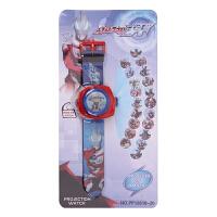 甜梦莱奥特曼玩具手表电子表儿童男女孩卡通汽车钢铁侠社会人投影手表