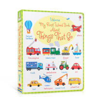Usborne 尤斯伯恩图书 My First Word Book About Things that go 关于交通