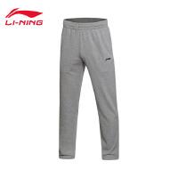 李宁卫裤男士2017新款篮球系列针织运动裤AKLM485