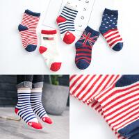 宝宝袜子船袜春秋季中筒男童女童短袜3-5-8-12岁小学生袜子