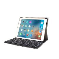 2019/18新款iPadpro/air9.7/11/12.9寸蓝牙键盘超薄磁吸保护套壳 经典黑 9.7(卡扣式)