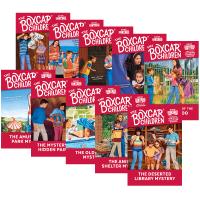 英文原版 棚车少年21-30册套装 The Boxcar Children Mysteries Books 进口英语章节