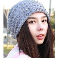 女士孕妇时尚包头帽蕾丝空调帽 新款透气超薄棉质吸汗头巾帽