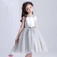 公主裙女童礼服婚纱裙儿童蓬蓬裙演出表演裙舞蹈裙花童礼服裙