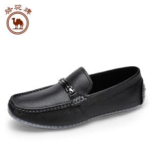 骆驼牌男鞋 春季新品 日常休闲乐福鞋套脚低帮鞋子男休闲鞋