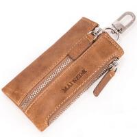 男士钥匙包女士复古锁匙包 腰挂车钥匙包零钱包
