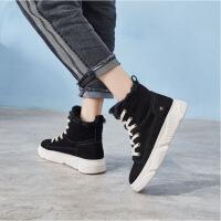 №【2019新款】冬天穿的休闲棉靴厚底加绒高帮百搭雪地靴