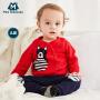 【每满150减50】迷你巴拉巴拉婴儿男女童长袖毛衣春秋上衣幼儿童宝宝纯棉卡通毛衫