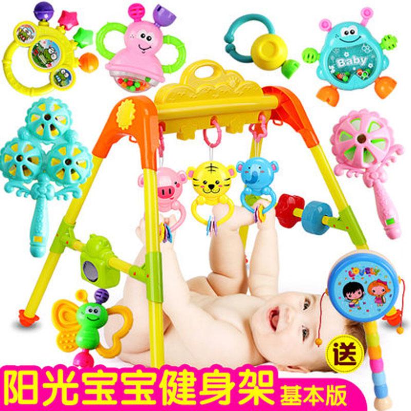 )婴幼儿3-6-12个月 儿童玩具宝宝音乐健身架