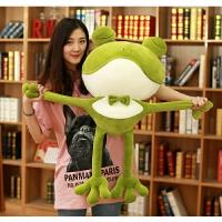 青蛙玩偶毛绒玩具公仔娃娃可爱睡觉抱枕女孩搞怪