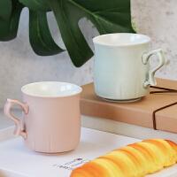 台湾乾唐轩活瓷杯 正品 甜心咖啡杯 红茶杯 随手创意简约便携陶瓷水杯 杯子
