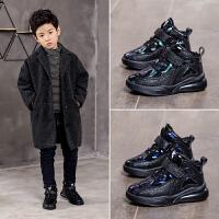男童棉鞋冬儿童冬鞋男中大童加绒棉鞋男孩