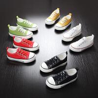 儿童帆布鞋春秋童鞋男童帆布球鞋懒人板鞋