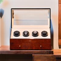 机械表盒摇表器 转表器 晃表器 四表位木质自动上链表盒 手表表盒收纳盒