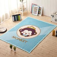 御目 婴儿爬行垫 全棉加厚宝宝纯棉爬爬垫家用客厅折叠儿童游戏垫子野餐环保地垫地毯家居用品