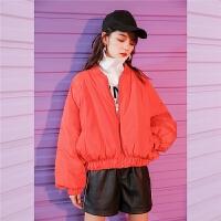 蝙蝠袖羽绒服女小个子短款2018新款白鸭绒潮韩版时尚冬季加厚外套