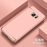 三星S6手机壳直屏全包边3星s6磨砂硬壳g9200外套g9208带磁吸支架