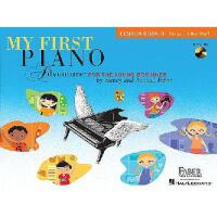 预售 英文原版 菲伯尔我的钢琴启蒙课:B级课本+CD(迈向五线谱)My First Piano Adventure, L