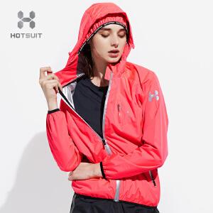 美国HOTSUIT暴汗服女健身服套装跑步大码控体服运动发热爆汗服6540903