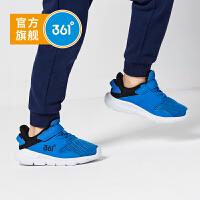 【3折到手价:59.7】361度童鞋 男童跑鞋 儿童运动鞋魔术贴小童鞋 2019年新品