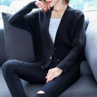 时尚浅秋2018秋冬新款女装诸老大羊毛衫正针织羊绒衫毛衣开衫