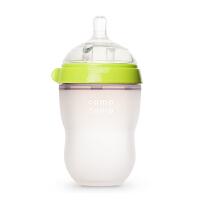 【当当自营】韩国原装 可么多么 奶瓶 250ML(自带奶嘴流量为2滴) 绿色