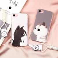 【支持礼品卡】苹果6手机壳iPhone7保护套iphone8手机壳 苹果8plus手机壳 6s创意个性情侣男女款plu
