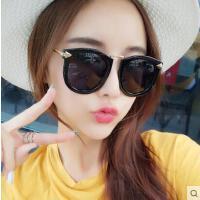 韩版偏光太阳镜 女墨镜 户外新款潮圆脸优雅时尚简约眼镜