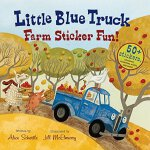 Little Blue Truck Farm Sticker Fun!