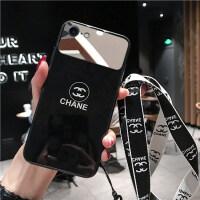 【好货优选】苹果11手机壳苹果x镜子iPhone11玻璃8plus潮牌xr女iphonex补妆11p 苹果7/8 镜子