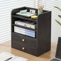 【一件3折】简约现代北欧书柜书架组合落地多功能小书架简易桌上学生用
