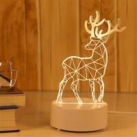 小台灯 毕业创意小礼品 3D立体小夜灯生日礼物 卧室LED床头灯 多款可选