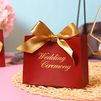 装喜糖的包装盒 喜糖盒欧式创意回礼婚礼糖果伴手礼包装空盒礼品结婚喜糖袋礼盒装