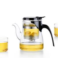正品尚明进口高硼硅玻璃飘逸杯B02配4个CP02茶叶冲泡器T02/05礼盒