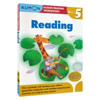 【首页抢券300-100】Kumon Reading Workbooks G5 公文式教育英文原版图书 小学五年级英语阅