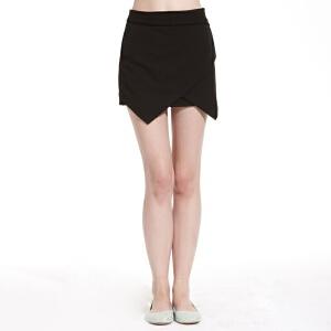 美特斯邦威女装不对称半裙258015