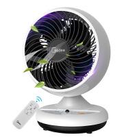 美的电风扇 GAC18ER 3档循环风选择 7H预约定时 360度全景送风 空气循环扇 风扇 电扇 正常风 遥控控制
